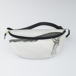044 Bernets Magpie pica bernettii Fanny Pack