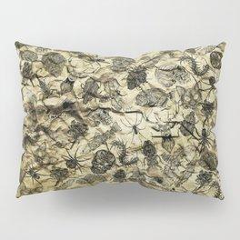 Pattern inked on rock Pillow Sham