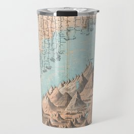 Chart of the World's Mountains and Rivers - Geographicus Travel Mug