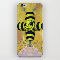 Bee Positive iPhone & iPod Skin