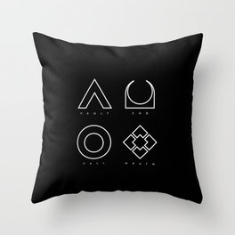 PAUSE – RAID Throw Pillow