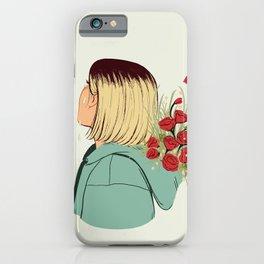 Flower Boy 02 iPhone Case