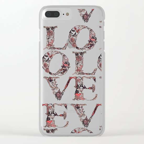 LO Clear iPhone Case