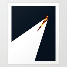 Basic Paper - Ironman Art Print