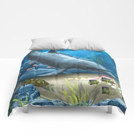 The World Of The Dolphin Comforters