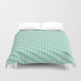 Green Pattern Duvet Cover