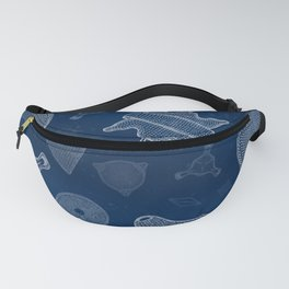 Diatoms - microscopic sea life Fanny Pack