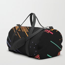 Colored Lines Duffle Bag