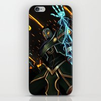 league of legends iPhone & iPod Skins featuring Viktor League of Legends by ARAM Adventures