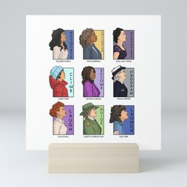 She Series - Real Women Collage Version 4 Mini Art Print
