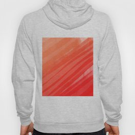 warm colors orange and red abstract Hoody