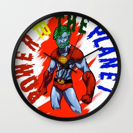 METTA WORLD PEACE Wall Clock