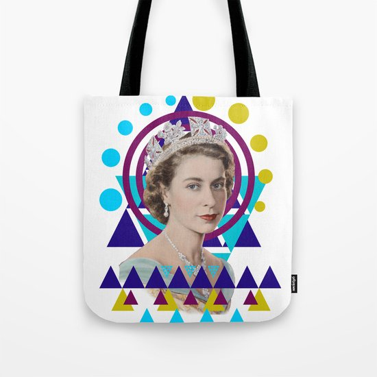 Geometric Monarchy Tote Bag