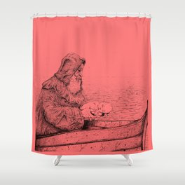 Father Mapple's Passage from Life into Death Shower Curtain