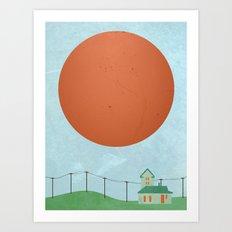 Mid-day Sun  Art Print