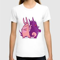 gengar T-shirts featuring Clefable and Gengar by Ida Dobnik
