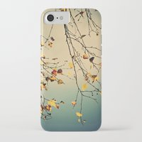 poem iPhone & iPod Cases featuring A poem from nature by Anne Staub