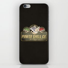 Power Shell Co. iPhone Skin