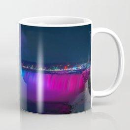 Rainbow Niagara Falls Waterfall (Color) Coffee Mug