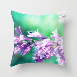 Tribute to a friend Throw Pillow