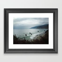 Kirk Creek Framed Art Print