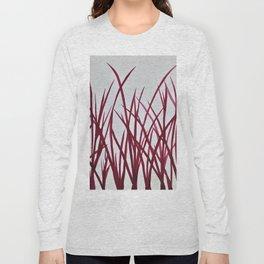 Red grass Long Sleeve T-shirt