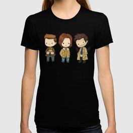 Chibi Dean Sam Castiel Supernatural T-Shirt