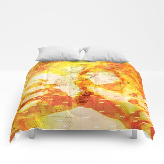 Never In A Million Years < The NO Series (Orange) Comforters