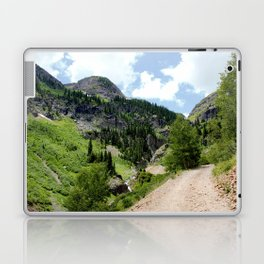 Old Wagon Road to the Silver Crown and Silver Cloud Gold Mines Laptop & iPad Skin
