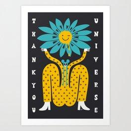 Thank You Universe Art Print