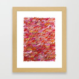 Happy Two, from The Happiness Series Framed Art Print