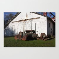 truck Canvas Prints featuring Truck by joefoto