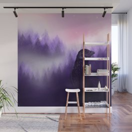Mythical crow Wall Mural