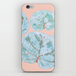 Tropical Sea Grape Leaves iPhone Skin