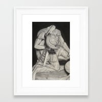 gladiator Framed Art Prints featuring Gladiator by Ethan Hellexon