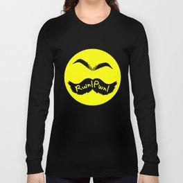 RwnlPwnl Mustache Long Sleeve T-shirt