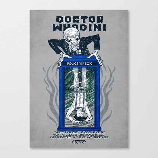 Doctor Whodini Canvas Print