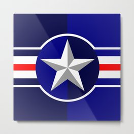 Air Force Metal Print