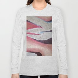 Red Ghost Long Sleeve T-shirt