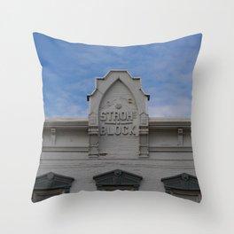 Stroh Block Throw Pillow