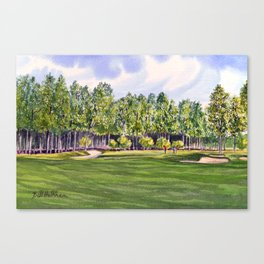 Pinehurst Golf Course No2 Hole 17 Canvas Print