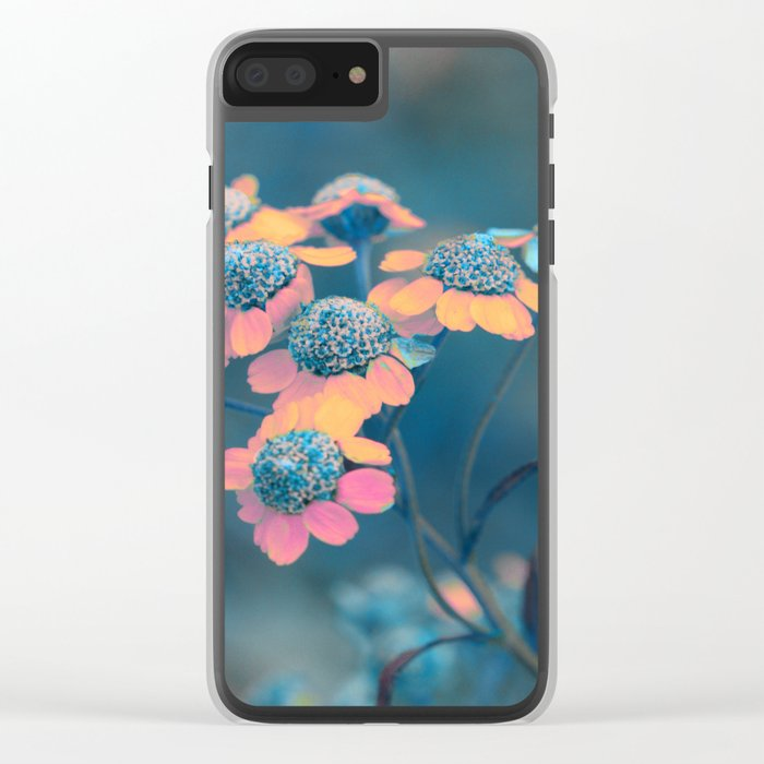 Softly flowers(2) Clear iPhone Case