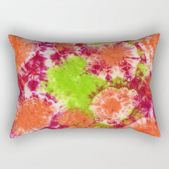 Mango Mushrooms Rectangular Pillow