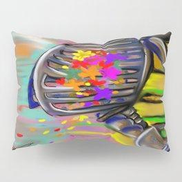 skull Flower Pillow Sham