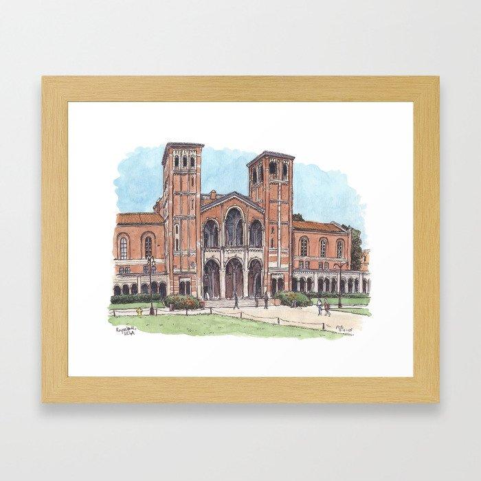 Royce Hall UCLA Framed Art Print