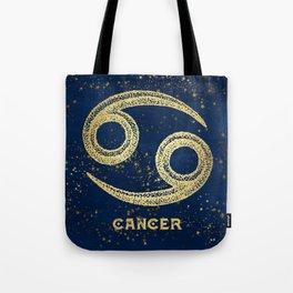 Cancer Zodiac Sign Tote Bag