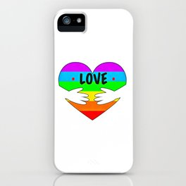 Gay Pride (17) iPhone Case