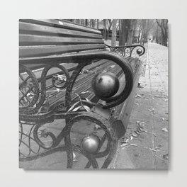 Vibrant city . Art object coupon , interiordecor . antique 7 Metal Print
