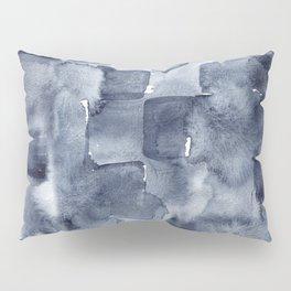 Indigo Watercolor Pillow Sham