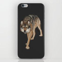 Wondering Wolf iPhone Skin